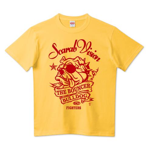 スカラヴィジョン「ブルドック」Tシャツ