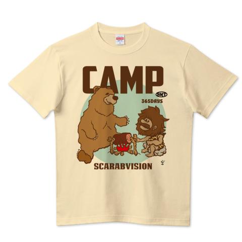 スカラヴィジョンのキャンプTシャツ